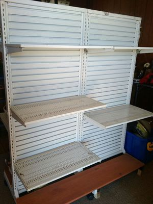 2 sided retail shelving