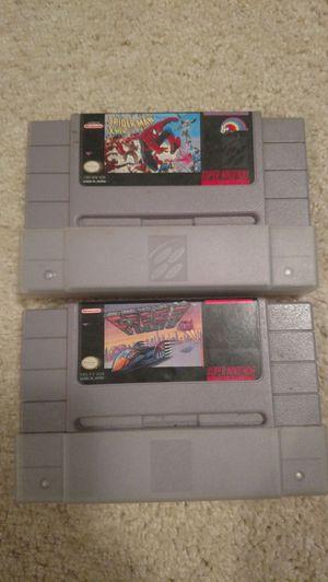 2 SNES games