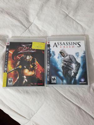 Ninja Gaiden Sigma/ Assassin's Creed