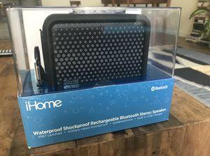 IHome Waterproof Bluetooth Speaker