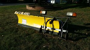 "Meyer 7'.6"" snow plow only I have sold the frame and lights....freshly painted $600 OBO"