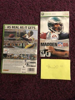 Xbox360 Madden06