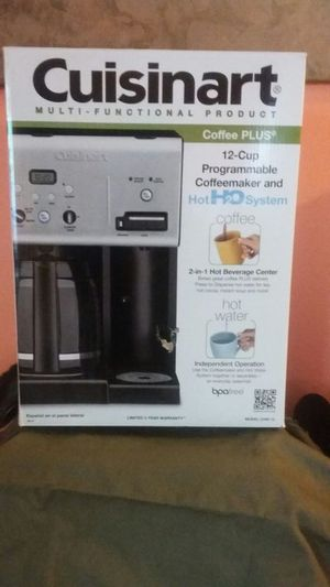 Coffee maker hot water system