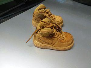 Nike 5C Tan Air Force Ones