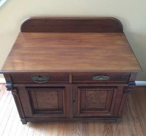 BEAUTIFUL WALNUT LATE VICTORIAN WASHSTAND