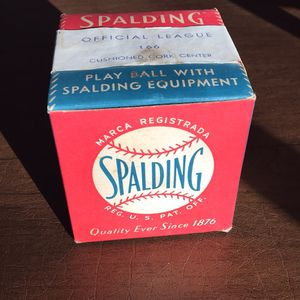 1950s Sealed Spaulding Baseball