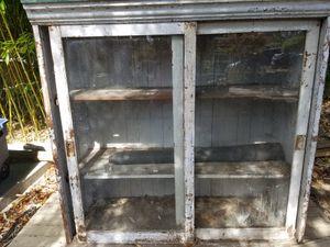 Antique Vintage Farmhouse Pie Safe Canning Storage Cabinet