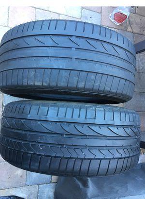 potenza run flat tires 225 40 18