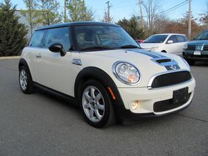 2009 Mini Cooper S. Manual transmission.