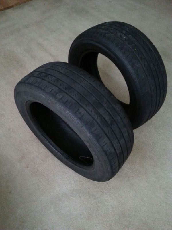 tires size 205 55 r16 91h only 2 auto parts in raleigh nc offerup. Black Bedroom Furniture Sets. Home Design Ideas
