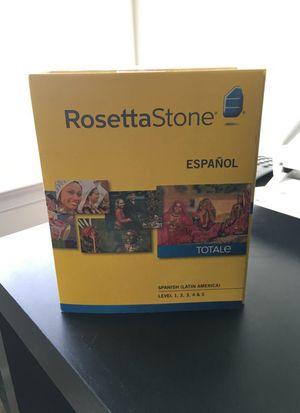 Rosetta Stone Spanish level 1-5