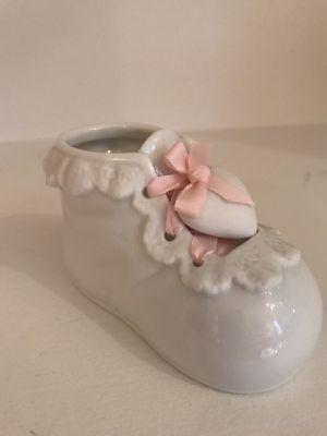 New - Ceramic Baby bootie