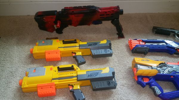 Nerf Guns & Paintball Gun
