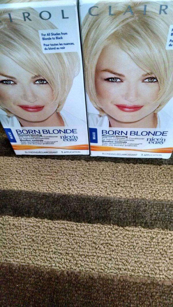 Born Blonde, Nice \'N Easy Hair Dye (Beauty & Health) in Raleigh, NC