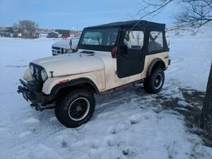 Best 10 new and used auto parts for sale in glendive mt offerup 1980 jeep cj7r parts has title sciox Choice Image