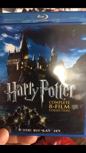 Harry Potter bluray 8 disc