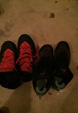 Both Jordan size 5 and 4.5