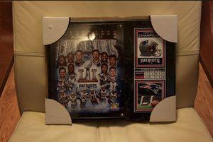 New England Patriots Plaque!