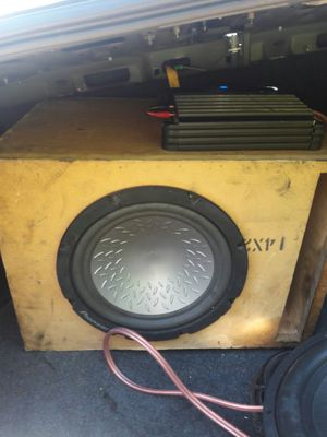 12 inch pioneer sub with alpine vpower amp