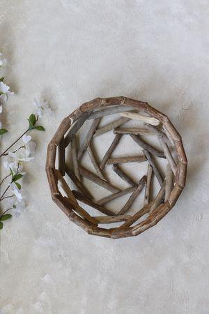 Wooden multi purpose basket