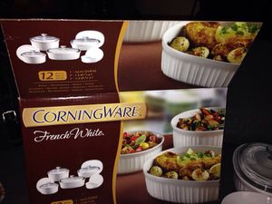 Corning Ware. French White. Please See All The Pictures and Read the description