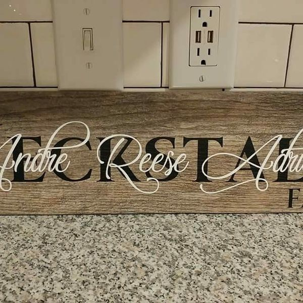Custom signs for weddings baby showers gifts etc household in custom signs for weddings baby showers gifts etc negle Image collections