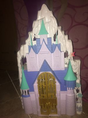 Frozen castle and ice palace