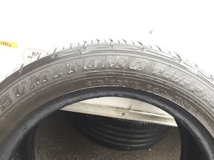 I have 1 SUMITOMO Used good Tire 215/55/R17