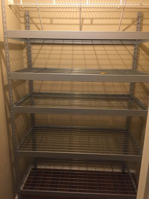 Metal shelve 4 f x 2 f 6f h heavy duty