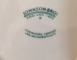 Antique Set of four Johnson Brothers Dishes. asking $90.00