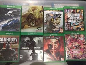 Xbox one games$