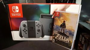 New Nintendo Switch and Legend of Zelda
