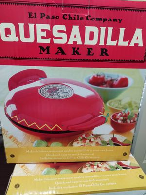 El paso Chile company Quesadilla maker for sale  Bentonville, AR