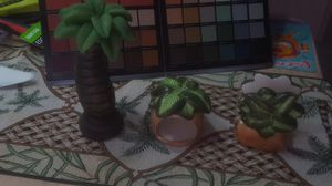 Palm tree kitchen decor