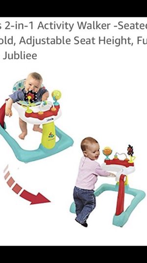NEW Kolcraft tiny steps 2in1 sit in and standup walker