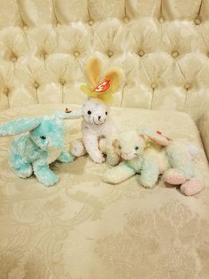 Beanie Babies very soft bunnies