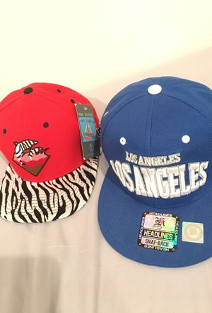 Brand new authentic pink dolphins snapback and Los Angelas