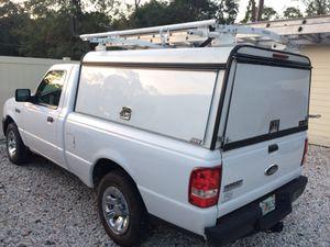 Ford ranger cap camper top utility latter racks canopy
