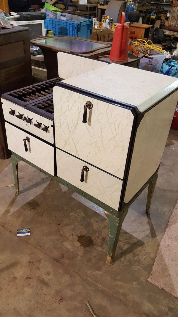 Antique gas stove will work
