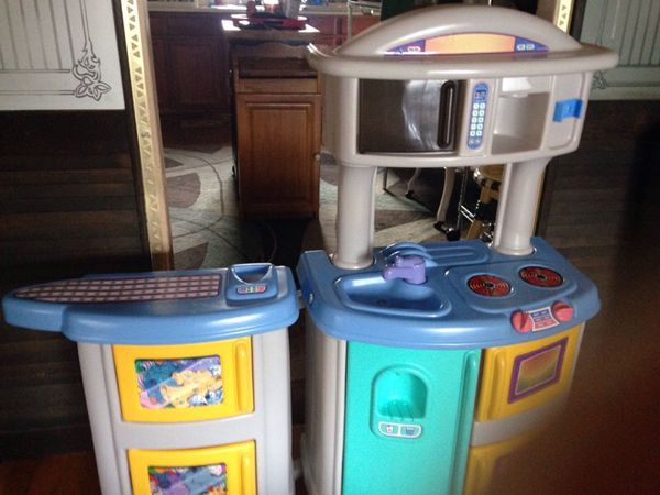 Little tikes kitchen set , with the ironing board also . (General ...