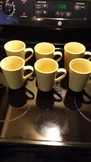 Six coffeemugs