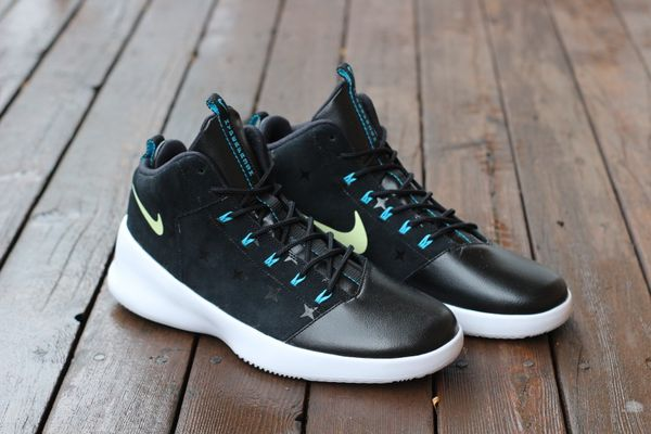 Fluorescent Nike Men's US10 Hyperfr3Sh Print N7 Basketball Shoe 811355 034 Black