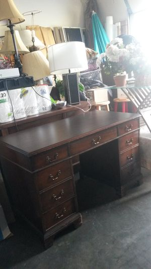 Beautiful solid cherry wood desk
