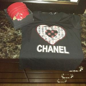 Chanel belt and shirt large