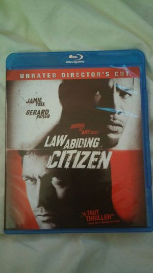 Law abiding citizen blueray