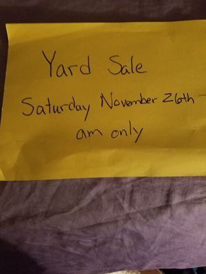 Yard Sale in Winter Park