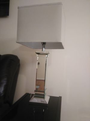 3 Way Accent Mirror Table Lamp