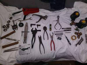 Array of vintage tools