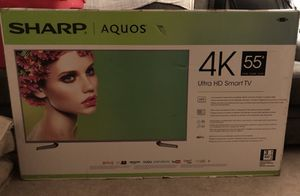 "Sharp Aquos LC 55P8000U - 55"" LED Smart TV - 4K UltraHD"