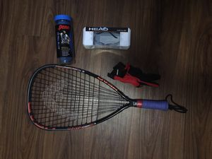 Racket Ball Setup